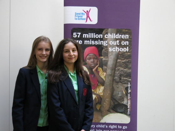 pic - Young Ambassadors 2014 Maisie and Rebecca